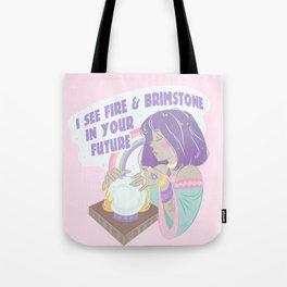 A Fire and Brimstone Future Tote Bag