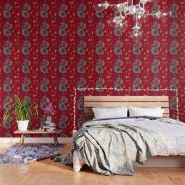 Dragon Popart By Nico Bielow Wallpaper