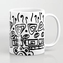 Growing Together - Black and White Coffee Mug
