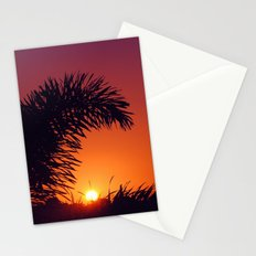 sunset in mexico Stationery Cards