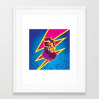 storm Framed Art Prints featuring Storm by HanYong
