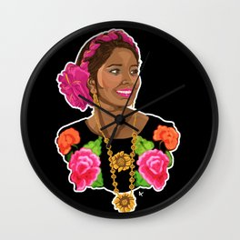 Tehuana Wall Clock