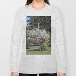 Spring Country Garden Long Sleeve T-shirt
