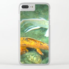 Coy Fish Clear iPhone Case
