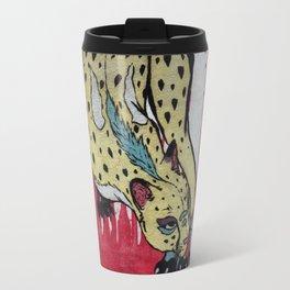 CMYK Cheetah Travel Mug