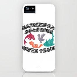 Samezuka Academy Swim Team iPhone Case