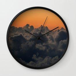 Colors of Maui Wall Clock