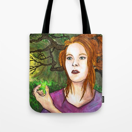 """""""Through the Woods"""" by Cap Blackard Tote Bag"""