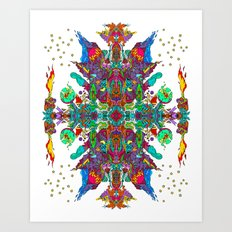 Galactic Cataclysm! Art Print
