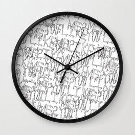 You like me? Wall Clock