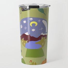 Cradle Mountain Snow Globe Travel Mug