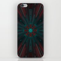 edm iPhone & iPod Skins featuring Nucleotid by Obvious Warrior