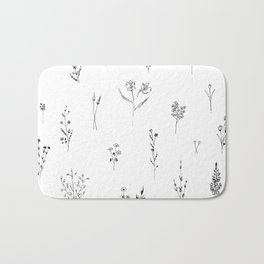 Wildflowers BIG Bath Mat