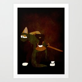 Japanese Bobtail Art Print