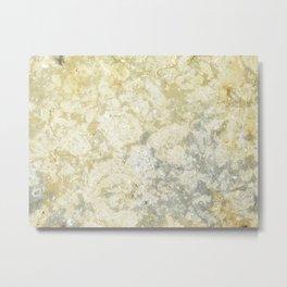 marble texture Metal Print