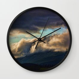 A SEA OF CLOUDS Wall Clock