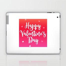 Happy Valentine's Day Hearts Laptop & iPad Skin