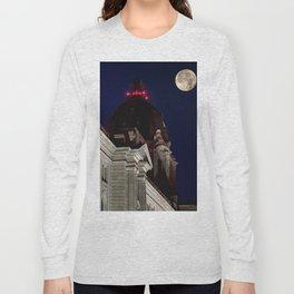 October Super Moon Long Sleeve T-shirt
