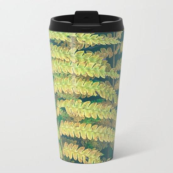 Woodland Fern Metal Travel Mug