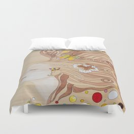 Lost in Dreaming Duvet Cover