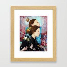 Fickle Framed Art Print