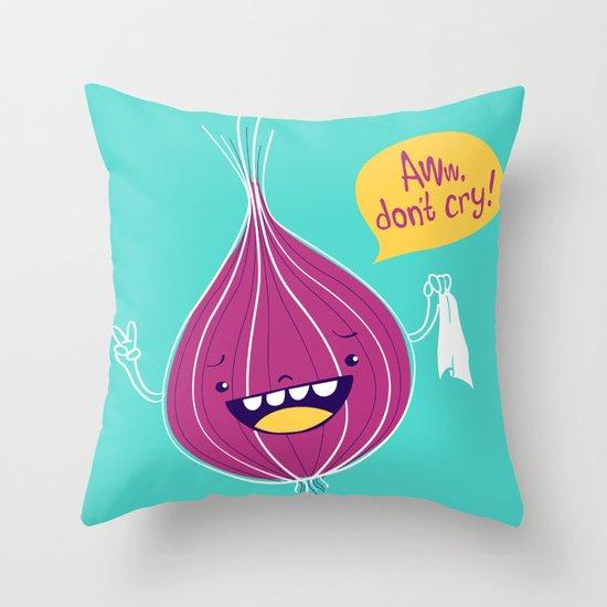 Awwnion Throw Pillow
