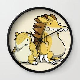 Pokémon - Number 27 & 28 Wall Clock