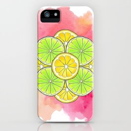 Sour and Sour iPhone Case
