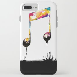 Feelings behind the darkness iPhone Case
