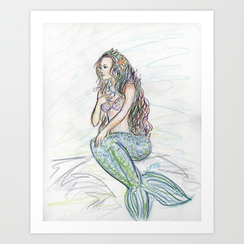 Folk Art Drawing Image