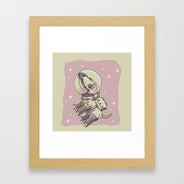 Laika Framed Art Print