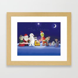 'Tis the Reason for the Season Framed Art Print