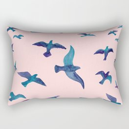 Birds II Rectangular Pillow