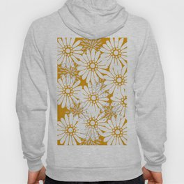 Summer Flowers Harvest Gold Hoody