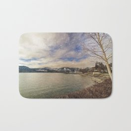 Lake Chelan morning Bath Mat