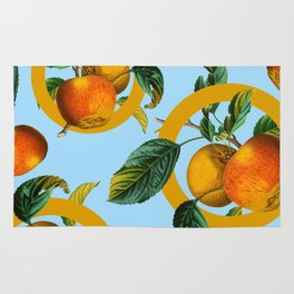 Vintage Fruit Pattern II Rug