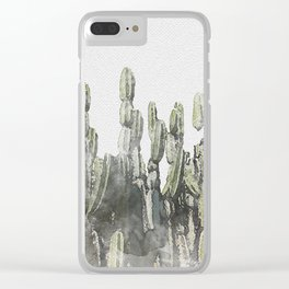 Kaktos Clear iPhone Case