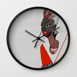 The Business of Branding Beauty Collection I Wall Clock