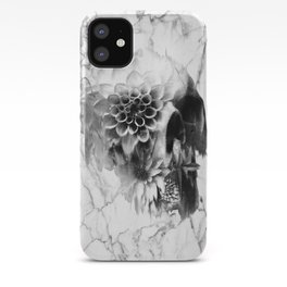 Decay Marble Skull iPhone Case