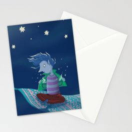 Charm lost his box Stationery Cards