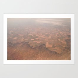 Arizona Landmap Photography Art Print