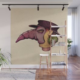 Plague Doc Wall Mural