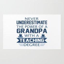 Grandpa Teacher Rug