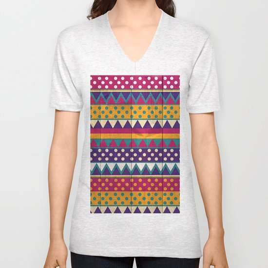 Mexican Pattern Unisex V-Neck