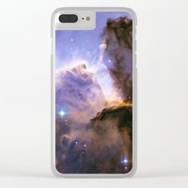 Eagle Nebula Clear iPhone Case