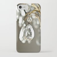 chandelier iPhone & iPod Cases featuring Chandelier  by Katie Kirkland Photography