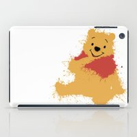 winnie the pooh iPad Cases featuring Winnie The Pooh by DanielBergerDesign