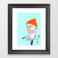 Doc Zissou Framed Art Print