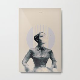 Pixels and bubblegums Metal Print