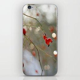 ROSEHIP AND BOKEH iPhone Skin